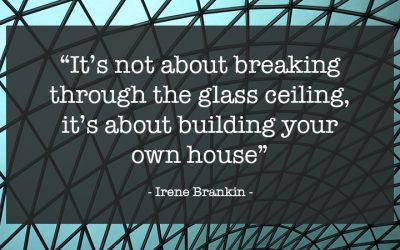 What is your glass ceiling?